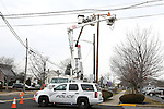 JCP&L Crews move an Osprey's nest on Warren Ave. in Spring Lake Heights, NJ
