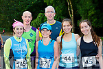 Tina O'Donoghue, Philip Gammell, Susan foley, Sean Coffey, Sorcha Daly and Meadhbh O'Leary who ran in the Killarney 10 mile road race on Saturday
