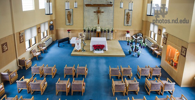 Apr. 10, 2012; Columba Hall Chapel..Photo by Matt Cashore/University of Notre Dame
