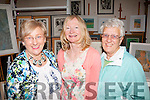 Charity <br /> ----------<br /> Attending the Art exhibition in the Oyster Tavern,the Spa,Tralee last Sunday afternoon in aid of Kerry Hospice were L-R Maureen Ryan (Ardfert),Sally Ryle,Artist,(Tralee) and Mercy Fleming,Tralee