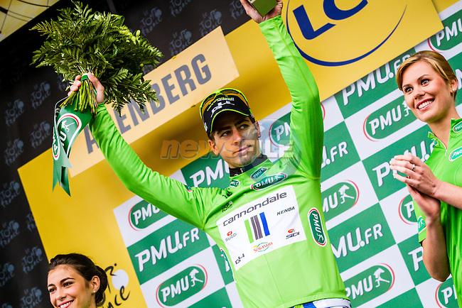 Peter Sagan, Cannondale, Tour de France, Stage 5: Ypres > Arenberg Porte du Hainaut, UCI WorldTour, 2.UWT, Wallers, France, 9th July 2014, Photo by Thomas van Bracht / Peloton Photos