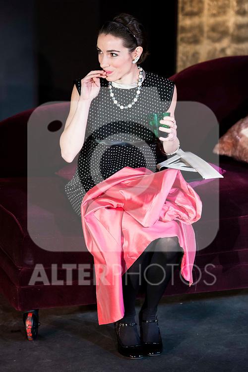 "Rebeca Matellan during the theater play of ""Addio del Passato"" at Fernan Gomez Theater in Madrid. March 15, 2017. (ALTERPHOTOS/Borja B.Hojas)"