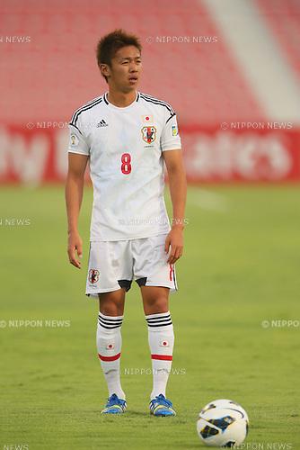 Hiroshi Kiyotake (JPN), <br /> JUNE 11, 2013 - Football / Soccer : <br /> FIFA World Cup Brazil 2014 Asian Qualifier <br /> Final Round Group B <br /> between Iraq 0-1 Japan <br /> at Al-Arabi Stadium, Doha, Qatar. <br /> (Photo by YUTAKA/AFLO SPORT)