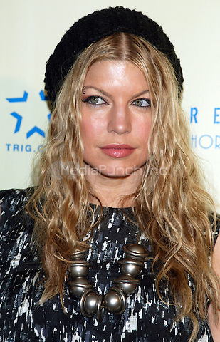 Fergie from The Black Eyed Peas pictured at the arrivals for the STEREO BY THE SHORE Launch Party at Stereo in New York City. May 19, 2007 © Joseph Marzullo / MediaPunch