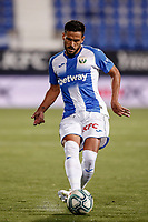 22nd June 2020; Estadio Municipal de Butarque, Madrid, Spain; La Liga Football, Club Deportivo Leganes versus Granada; Recio (CD Leganes) plays a ball through into attack