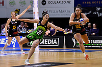 Pulse&rsquo; Sulu Fitzpatrick in action during the ANZ Premiership - Pulse v Magic at TSB Bank Arena, Wellington, New Zealand on Sunday 21 April 2019. <br /> Photo by Masanori Udagawa. <br /> www.photowellington.photoshelter.com