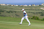 Rory McIlroy (N.IRL) walks up the 18th hole during Day 1 of the Volvo World Match Play Championship in Finca Cortesin, Casares, Spain, 19th May 2011. (Photo Eoin Clarke/Golffile 2011)