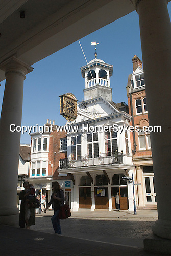 The Guildhall, Guildford  High Street Surrey UK.