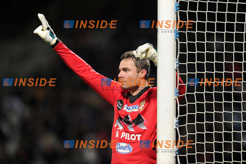 Stephan Andersen (Evian) .Football Calcio 2012/2013.Ligue 1 Francia Lyon vs Evian.Foto Panoramic / Insidefoto .ITALY ONLY