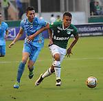 Deportivo Cali ganó 3-2 a Jaguares de Córdoba como local. Fecha 18 Liga Águila I-2016