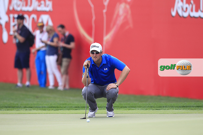 during Sunday's Final Round of the Abu Dhabi HSBC Golf Championship 2015 held at the Abu Dhabi Golf Course, United Arab Emirates. 18th January 2015.<br /> Picture: Eoin Clarke www.golffile.ie