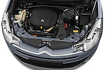 High angle engine detail of a 2007 - 2012 Citroen C-CROSSER Exclusive  SUV 4WD