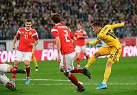 Goal of Thorgan Hazard midfielder of Belgium  <br /> Saint Petersbourg  - Qualification Euro 2020 - 16/11/2019 <br /> Russia - Belgium <br /> Foto Photonews/Panoramic/Insidefoto <br /> ITALY ONLY