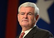 October 7, 2011  (Washington, DC)   *FILE Photo* Newt Gingrich (Media Images International)