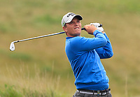 Callum Shinkwin (ENG) on the 5th fairway during Round 3 of the D+D Real Czech Masters at the Albatross Golf Resort, Prague, Czech Rep. 02/09/2017<br /> Picture: Golffile | Thos Caffrey<br /> <br /> <br /> All photo usage must carry mandatory copyright credit     (&copy; Golffile | Thos Caffrey)