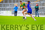 Paul O'Donoghue South Kerry in Action against Tadhg Morley Kenmare in the County Senior Football Semi Final at Fitzgerald Stadium Killarney on Sunday.