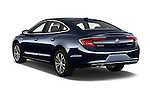 Car pictures of rear three quarter view of 2018 Buick LaCrosse Essence 4 Door Sedan Angular Rear