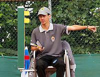 18-08-10, Tennis, Amstelveen, NTK, Nationale Tennis Kampioenschappen, Umpire Geurtjens