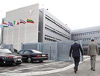 CERIMONIA DI APERTURA DEL NUOVO COMANDO  JFC NATO DI LAGO PATRIA .NELLA FOTO GLI EDIFICI DEL COMANDO .FOTO CIRO DE LUCA....OPENING CEREMONY OF THE NEW JFC NAPLES HQ