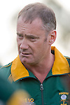 Pukekohe coach Gary Millington was not happy with his team at halftime. Counties Manukau Premier club rugby game between Bombay & Pukekohe played at Bombay on the 19th of May 2007. Pukekohe led 24 - 0 at halftime & went on to win 30 - 22.