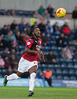 Roarie Deacon of Crawley Town in action during the Sky Bet League 2 match between Wycombe Wanderers and Crawley Town at Adams Park, High Wycombe, England on 28 December 2015. Photo by Andy Rowland / PRiME Media Images