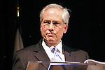 John Jay President - Jeremy Travis speaks at the John Jay Justice Award ceremony, April 5 2011.