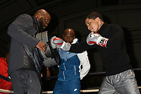 Boxer Gervonta Davis during an Open Workout at York Hall on 17th May 2017