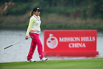 Yeun Jung Seo of South Korea walks during Round 1 of the World Ladies Championship 2016 on 10 March 2016 at Mission Hills Olazabal Golf Course in Dongguan, China. Photo by Victor Fraile / Power Sport Images