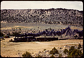 D&amp;RGW #490 K-37 hauling freight.<br /> D&amp;RGW  Monarch Branch, CO