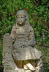 Savannah's Bonaventure Cemetery monument of Gracie Watson by sculptor John Walz