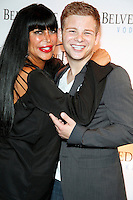Big Ang pictured with Jonathan Lipniki at The Pool at Harrahs in Atlantic City, New Jersey on July 20, 2012  &copy; Star Shooter / MediaPunchInc *NortePhoto.com*<br />