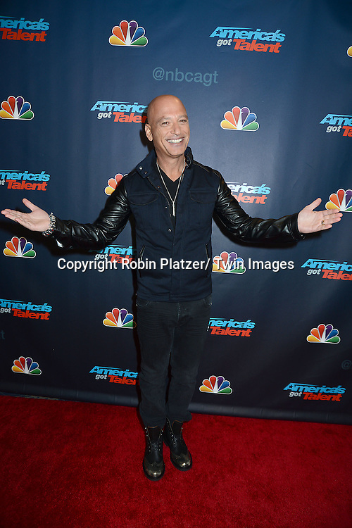"Howie Mandel attends the ""America's Got Talent"" pre show red carpet on September 17, 2013 at Radio City Music Hall in New York City."
