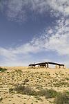 Israel, Negev desert, Tel Beer Sheba, the site of the Biblical city of Beer Sheba, UNESCO World Heritage Site