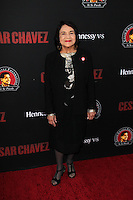 """Dolores Huerta<br /> at the """"Cesar Chavez"""" Los Angeles Premiere, TCL Chinese Theater, Hollywood, CA 03-20-14<br /> David Edwards/DailyCeleb.Com 818-249-4998"""