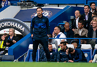 Frank Lampard manager of Chelsea during the Premier League match between Chelsea and Liverpool at Stamford Bridge, London, England on 22 September 2019. Photo by Liam McAvoy / PRiME Media Images.