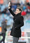 Celta de Vigo's coach Eduardo Berizzo during La Liga match. February 27,2016. (ALTERPHOTOS/Acero)