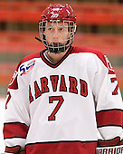 Danny Fick (Harvard - 7) - Sweden's Under-20 team defeated the Harvard University Crimson 2-1 on Monday, November 1, 2010, at Bright Hockey Center in Cambridge, Massachusetts.