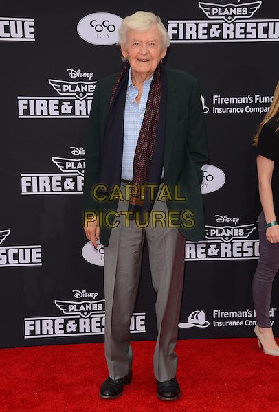 15 July 2014 - Hollywood, California - Hal Holbrook. Arrivals for the premiere of Disney's &quot;Planes: Fire and Rescue&quot; held at the El Capitan Theater in Hollywood, Ca. <br /> CAP/ADM/BT<br /> &copy;BT/ADM/Capital Pictures