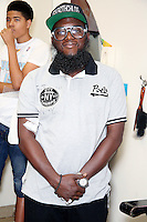 PHILADELPHIA, PA - AUGUST 19 :  Hip-Hop artist Freeway at Philly Cuts Unisex Salon for the Democratic Philadelphia voter registration launch in Philadelphia, Pa on August 19, 2016  photo credit Star Shooter/MediaPunch