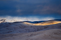 Snow-clad hills of the Tibetan Plateau, Qumalai, Qinghai, China