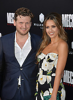 LOS ANGELES, CA. August 22, 2016: Jessica Alba &amp; director Dennis Gansel at the Los Angeles premiere of &quot;Mechanic: Resurrection&quot; at the Arclight Theatre, Hollywood.<br /> Picture: Paul Smith / Featureflash