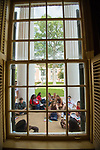 A Window on Orientation.  Photo by Kevin Bain/Ole Miss Communications
