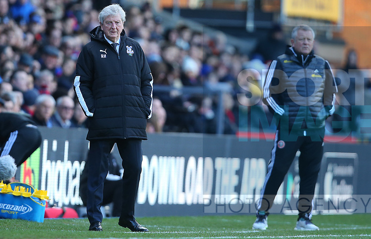 Crystal Palace's manager Roy Hodgson during the Premier League match at Selhurst Park, London. Picture date: 1st February 2020. Picture credit should read: Paul Terry/Sportimage