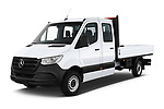 2019 Mercedes Benz Sprinter DC Base 4 Door Pick Up angular front stock photos of front three quarter view
