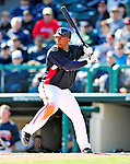 3 March 2010: Atlanta Braves' infielder Joe Thurston at bat during a Grapefruit League game against the New York Mets at Champion Stadium in the ESPN Wide World of Sports Complex in Orlando, Florida. The Braves defeated the Mets 9-5 in the Spring Training matchup. Mandatory Credit: Ed Wolfstein Photo