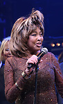 """Tina Turner during the """"Tina - The Tina Turner Musical"""" Opening Night Curtain Call at the Lunt-Fontanne Theatre on November 07, 2019 in New York City."""