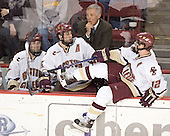 Brian O'Hanley, Stephen Gionta, Jerry York, Chris Collins - Boston College defeated Princeton University 5-1 on Saturday, December 31, 2005 at Magness Arena in Denver, Colorado to win the Denver Cup.  It was the first meeting between the two teams since the Hockey East conference began play.
