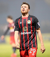 Blackburn Rovers' Corry Evans at the end of todays match<br /> <br /> Photographer Rachel Holborn/CameraSport<br /> <br /> The EFL Sky Bet League One - Gillingham v Blackburn Rovers - Tuesday 10th April 2018 - Priestfield Stadium - Gillingham<br /> <br /> World Copyright &copy; 2018 CameraSport. All rights reserved. 43 Linden Ave. Countesthorpe. Leicester. England. LE8 5PG - Tel: +44 (0) 116 277 4147 - admin@camerasport.com - www.camerasport.com