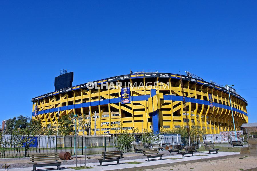 Estadio de futebol La Bombonera. Buenos Aires. Argentina. 2008. Foto de Caio Vilela.