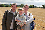 Robert, Mary and Robert McCormack at the Combines for Charity Guinness Book of World Records Attempt...Photo NEWSFILE/Jenny Matthews.(Photo credit should read Jenny Matthews/NEWSFILE)....This Picture has been sent you under the condtions enclosed by:.Newsfile Ltd..The Studio,.Millmount Abbey,.Drogheda,.Co Meath..Ireland..Tel: +353(0)41-9871240.Fax: +353(0)41-9871260.GSM: +353(0)86-2500958.email: pictures@newsfile.ie.www.newsfile.ie.FTP: 193.120.102.198.